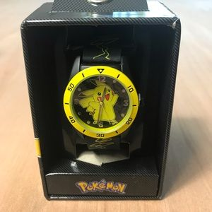 Pokémon Kids Watch Adjustable Pikachu